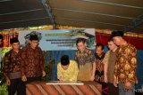 PGTI bangun hunian sementara di Lombok Utara
