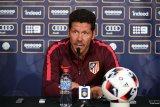 Bos Atletico Madrid Diego Simeone antara optimistis dan realistis