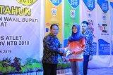 Atlet Kabupaten Sumbawa Barat dapat hadiah