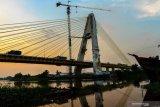 Jembatan Siak IV  di Riau akan tutup karena ratusan baut hilang