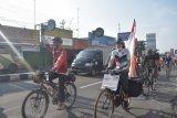 Relawan ACT lanjutkan gowes menuju Banten bantu korban bencana