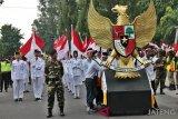 Ribuan peserta ikuti Kirab Kebangsaan Haul Gus Dur