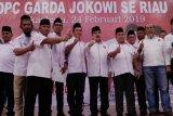 Antasari Azhar instruksikan kader Garda Jokowi Riau tepis isu anti-Islam