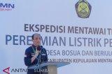 Wamen ESDM resmikan listrik pedesaan di Mentawai