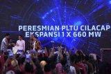 Presiden meresmikan PLTU Cilacap