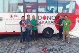 Karyawan PT Telkom Kalteng semakin antusias donor darah