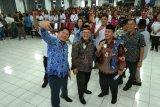 Pangemanan Hadiri Pengukuhan Pengurus DPC HIPMIKIMDO Kota Bitung 2019-2024
