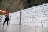 aparat jaga lokasi penyimpanan kotak suara pamilu 2019