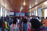 Bupati Jayawijaya sosialisasi vaksin MR kepada sejumlah tokoh agama Yalengga