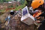 Pemasangan alat deteksi dini cocok untuk daerah longsor