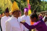 Masyarakat Nusa Tabukan Gelar Upacara