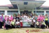 Angkatan 29 DREGD Polres Pulpis berbagi kasih dengan murid SLBN-1