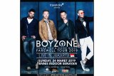 Boyzone akan gelar konser pamungkas di Jakarta Maret 2019