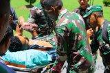Pratu Laode Madjid korban KKB dievakuasi ke RSUD Mimika