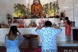 Warga keturunan Tionghoa di Papua datangi Vihara Arya Dharma