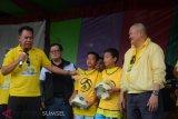 Puluhan anak usia dini ikuti pelatihan singkat sepak bola