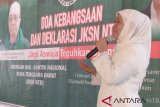 Khofifah ajak warga NTB pilih Jokowi-Ma`ruf Amin