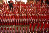 Perayaan Imlek di Kelenteng Tek Hay Kiong