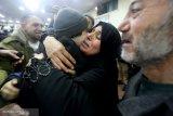 Setelah berpisah selama 20 tahun, wartawan Palestina bertemu ibunya di Mesir