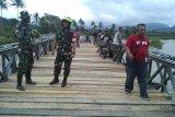TMMD genjot pengerjaan jembatan kura-kura di Sigi