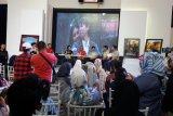 Pengunjung antusias hadiri Meet and Greet artis film Dilan