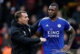 Pelatih anyar Leicester City Rodgers tetap gembira, walau dikalahkan Watford