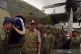 BPBD Riau sudah 26 kali modifikasi cuaca untuk padamkan Karhutla