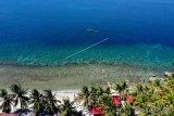 Pantai Exotic mulai ramai dikunjungi warga.