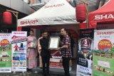 LED TV milik SHARP Indonesia Catat Rekor MURI
