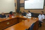 Ketua dan Komisi I DPRD Sulbar konsultasi dengan BKD Sulawesi Selatan