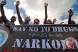 16.000 Milenial deklarasi anti narkoba di Riau