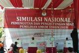 KPU RI harapkan Simulasi Nasional berikan pendidikan pemilih proses pemungutan (VIDEO)