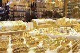 Emas berjangka turun tipis karena permintaan