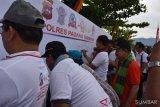 Ribuan kaum milenial Padang Pariaman deklarasi tertib berlalu lintas