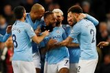 Tri gol Sterling bantu Manchester City menang 3-1 atas Watford