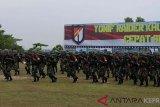 Satuan Yonif RK 136/TS gelar latihan pratugas