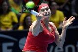Sabalenka tantang Kerber di putaran keempat Indian Wells