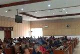 Puluhan mantan karyawan perusahaan furniture mengadu DPRD Bantul
