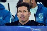 Diego Simeone optimis  tim asuhannya mampu rebut gelar Liga Spanyol