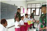 Pelajar di Perbatasan RI-PNG Mendapatkan Penanaman Jiwa Patriotisme