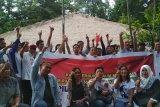 Relawan milenial deklarasi dukungan Jokowi-Ma'ruf Amin