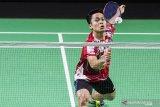 Ginting lolos ke semifinal Swiss terbuka setalah kalahkan Lin Dan