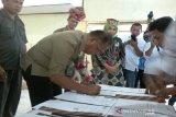 Lima desa di Poso tandatangani perjanjian kerja sama kemitraan konservasi