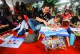 Garudafood ajak siswa SD aktif dalam kegiatan kesenian