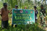 Babinsa Korem Garuda Dempo sosialisasi pencegahan kebakaran hutan dan lahan