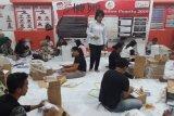 KPU masih lakukan pelipatan surat suara presiden-DPD
