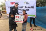 Krisis pangan,  ratusan paket Sembako bantuan masyarakat Indonesia didistribusikan ke Gaza
