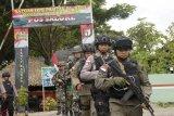 TNI-Polri tingkatkan patroli bersama di perbatasan jelang Pemilu