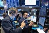 Wall Street jatuh ditengah ketegangan perdagangan AS dan China
