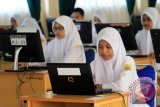 108 Murid MTs Pondok Pesantres Bangkinang ikuti UAMBN-BK